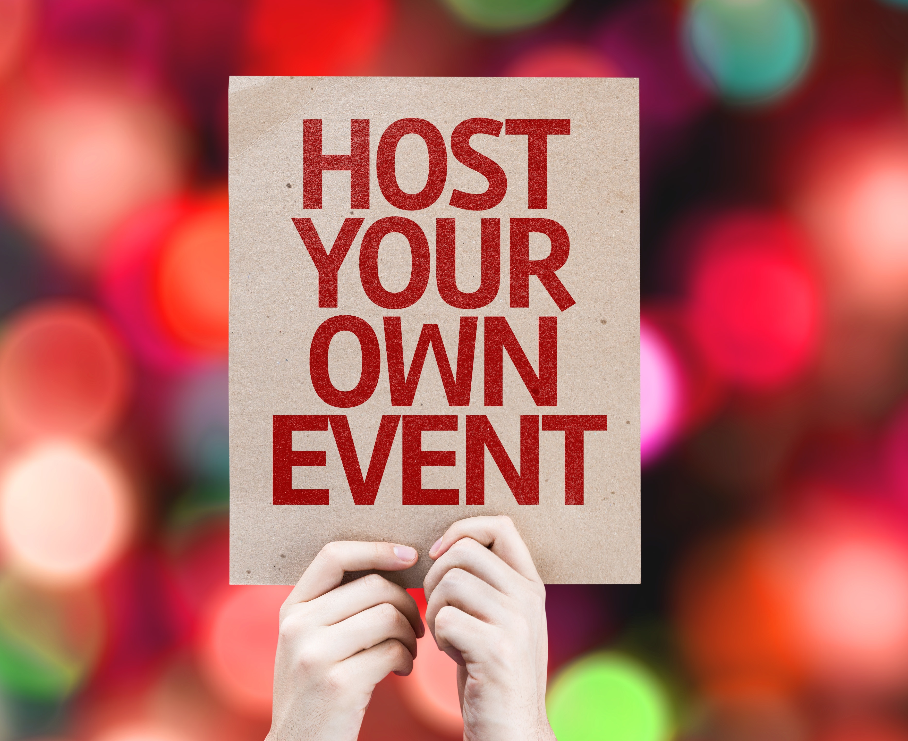 Host Own Event