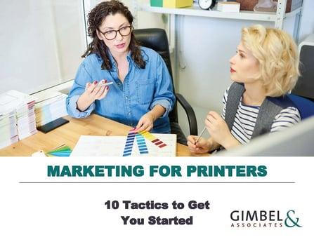 eBook Marketing for Printers V2.0