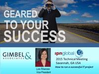 Gimbel & Assoicates IPN Tech Meeting